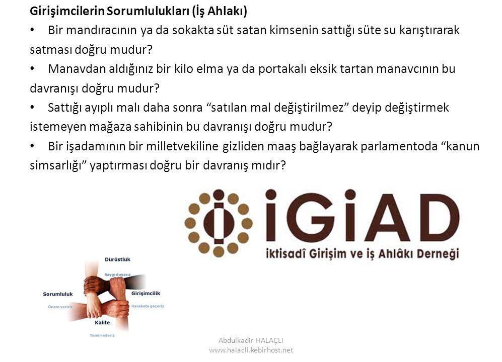 Abdulkadir HALAÇLI www.halacli.kebirhost.net