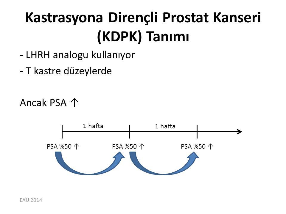 Kastrasyona Dirençli Prostat Kanseri (KDPK) Tanımı
