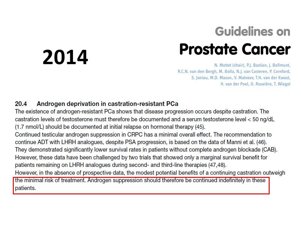 2014 Bu konuda güncel kılavuzlar da ADT'nin devam etmesi gerektiğini vurgulamıştır.
