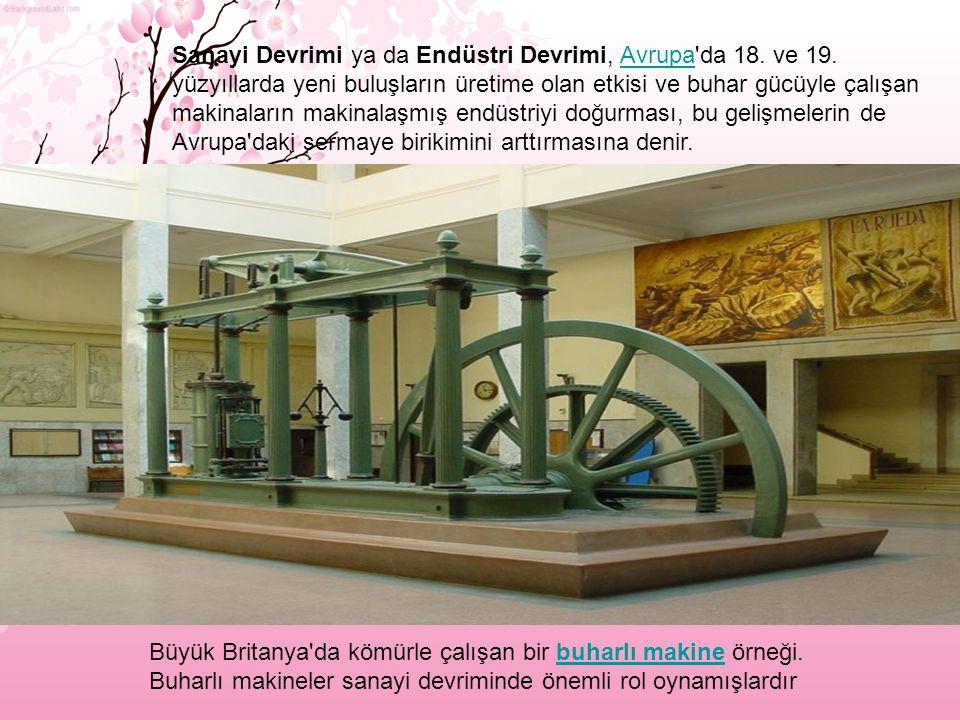 Sanayi Devrimi ya da Endüstri Devrimi, Avrupa da 18. ve 19