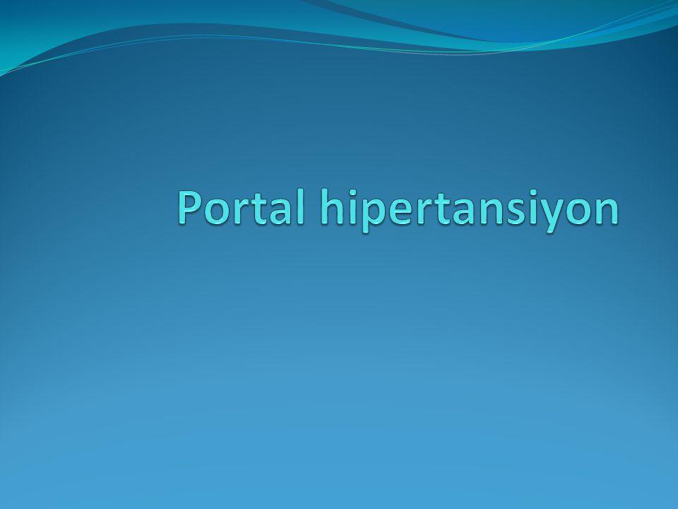 Portal hipertansiyon