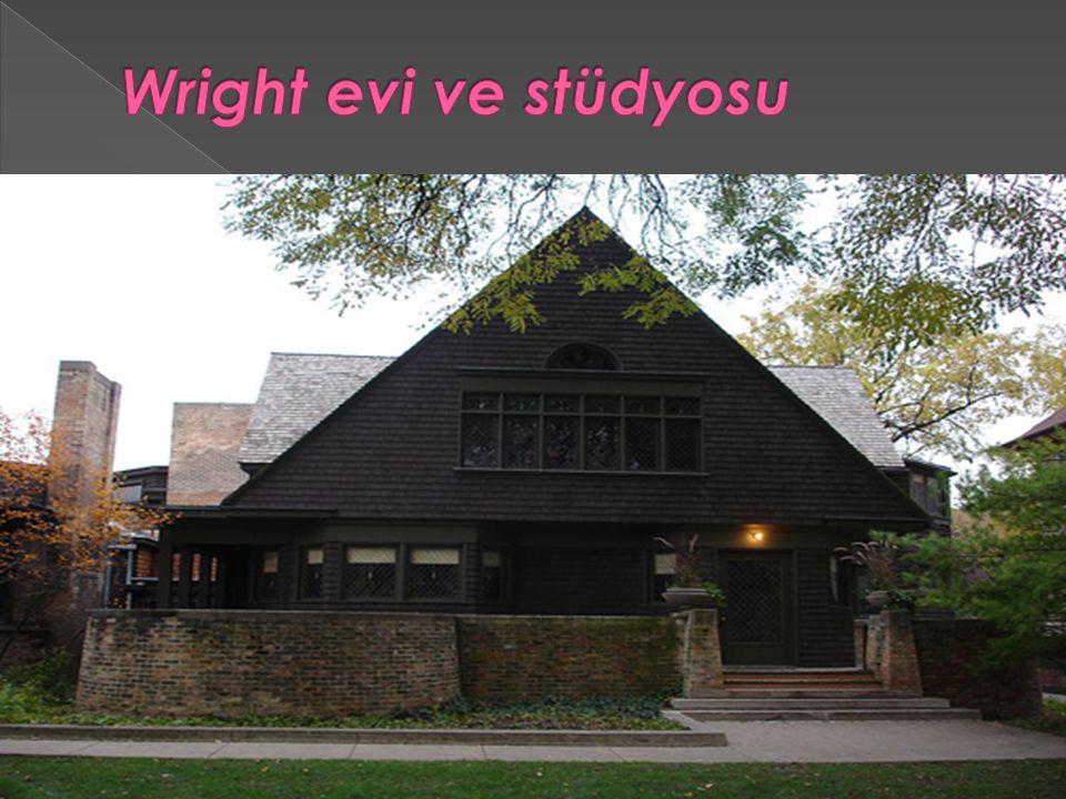 Wright evi ve stüdyosu