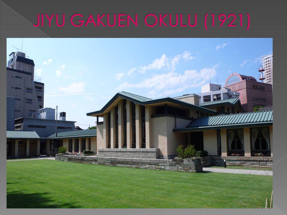 JIYU GAKUEN OKULU (1921)