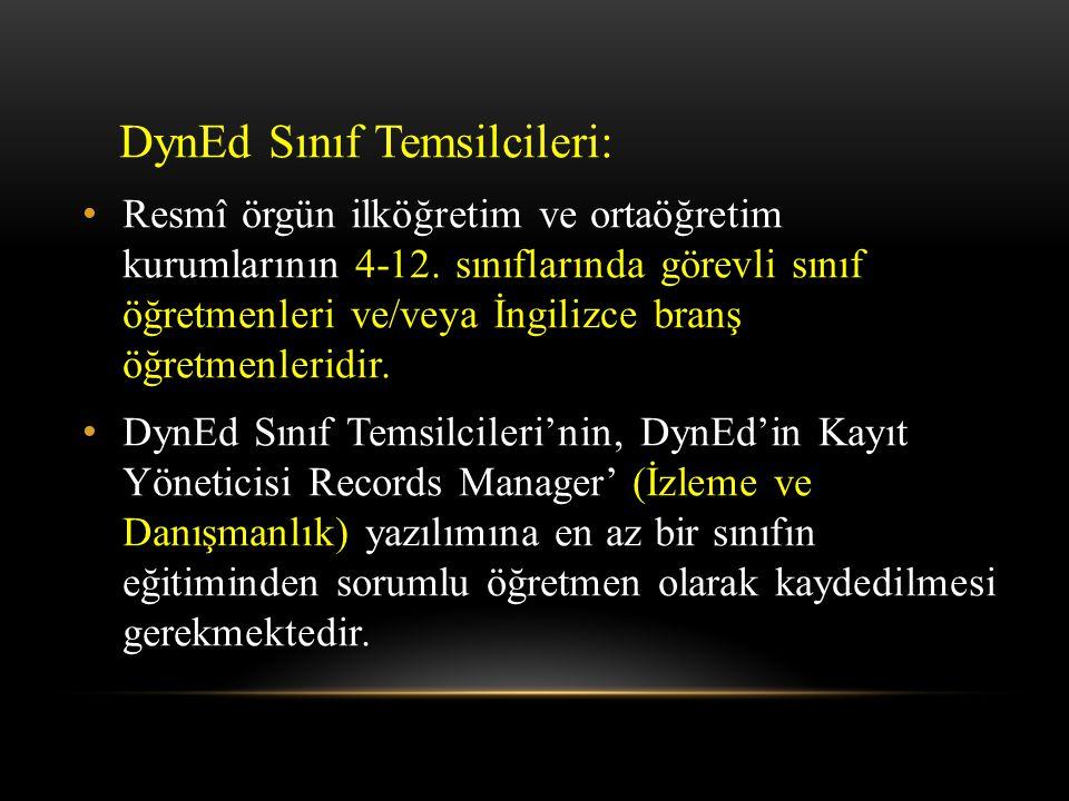 DynEd Sınıf Temsilcileri: