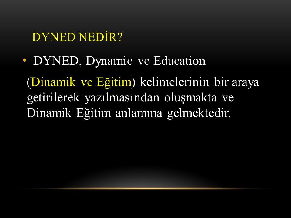 DYNED, Dynamic ve Education