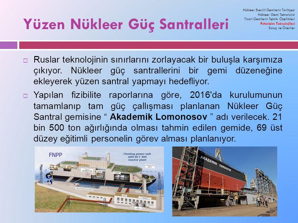 Yüzen Nükleer Güç Santralleri