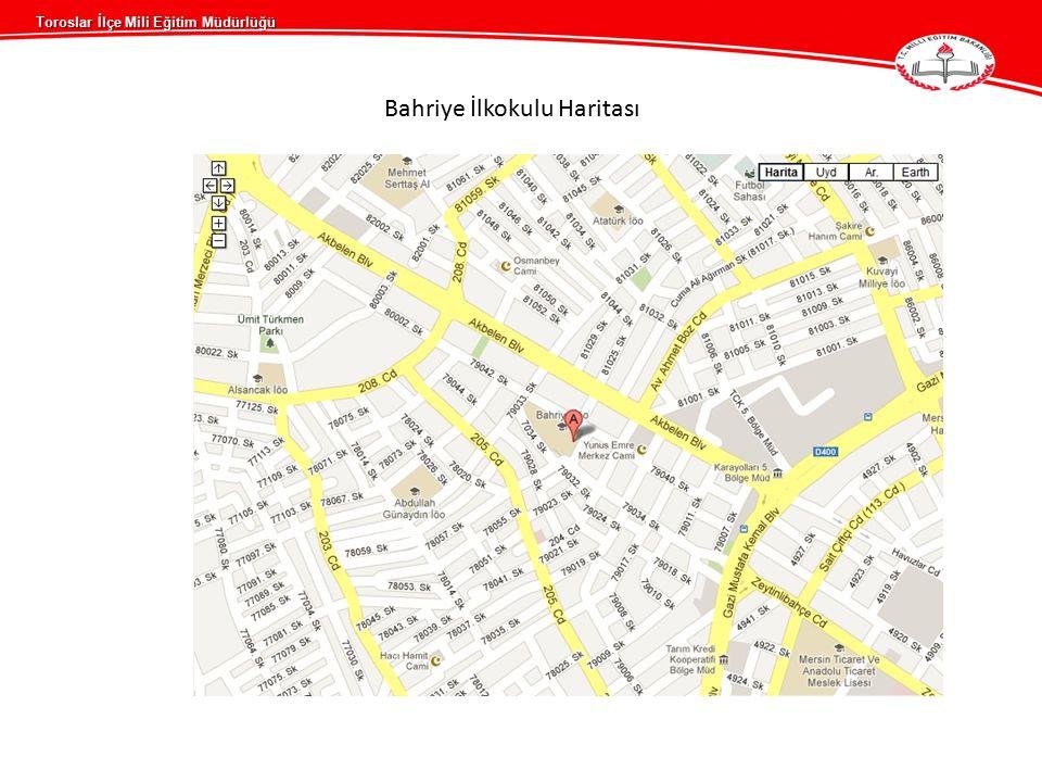 Bahriye İlkokulu Haritası