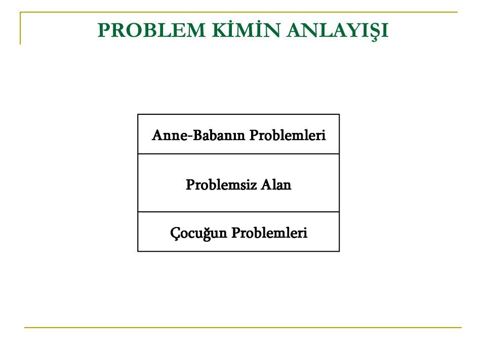 PROBLEM KİMİN ANLAYIŞI