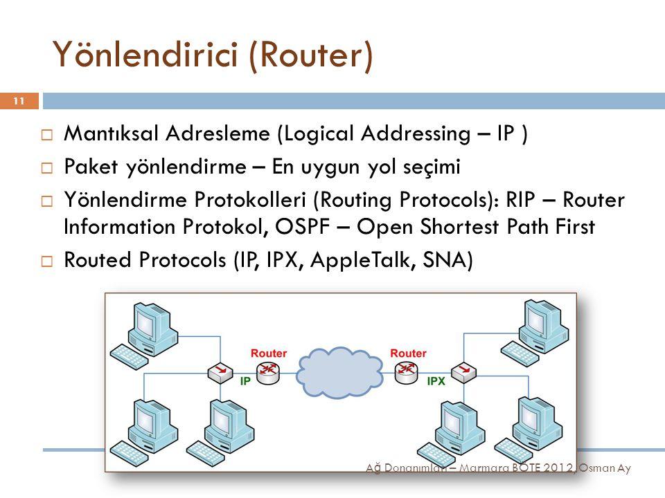 Yönlendirici (Router)