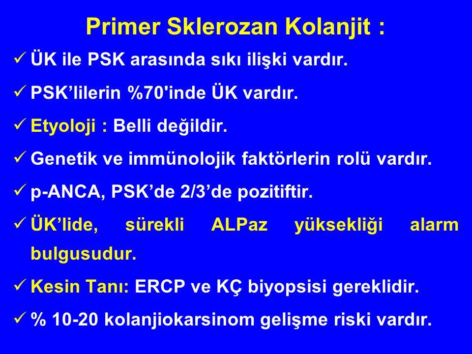 Primer Sklerozan Kolanjit :