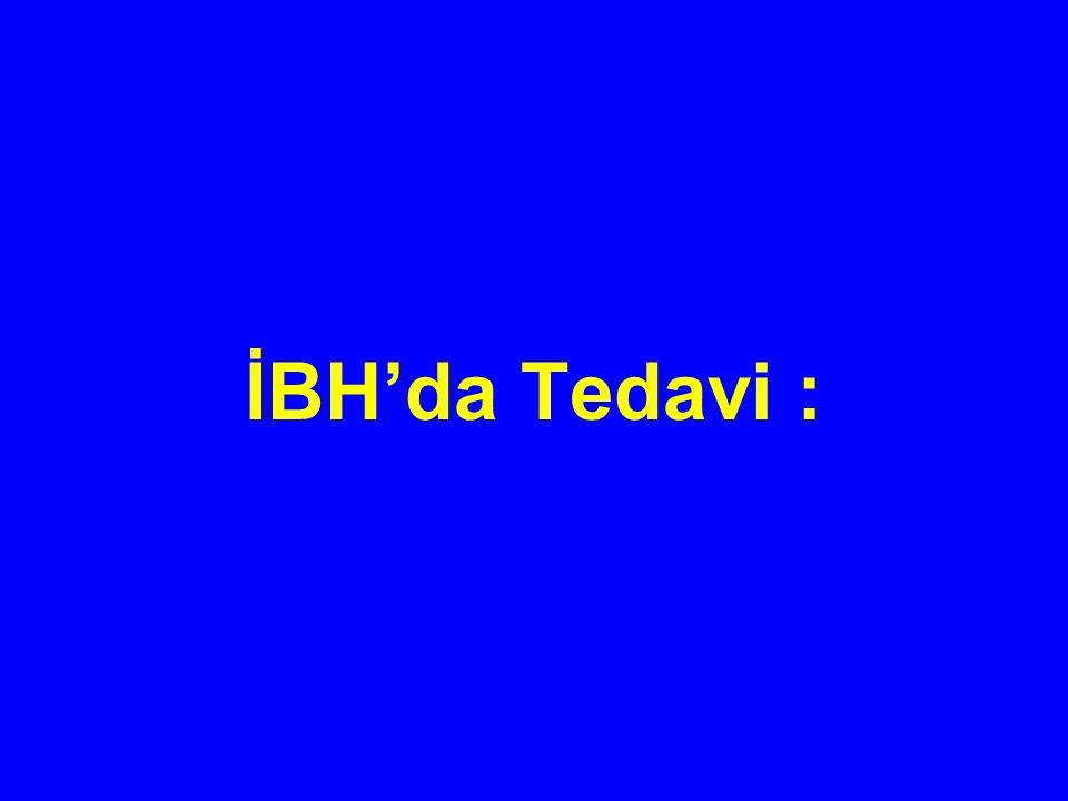 İBH'da Tedavi :