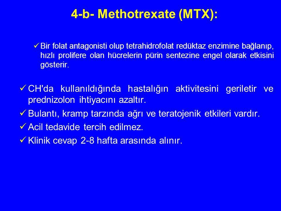 4-b- Methotrexate (MTX):