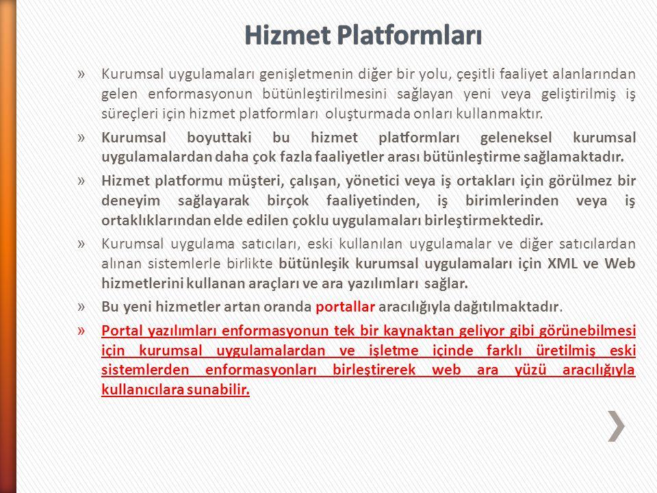 Hizmet Platformları