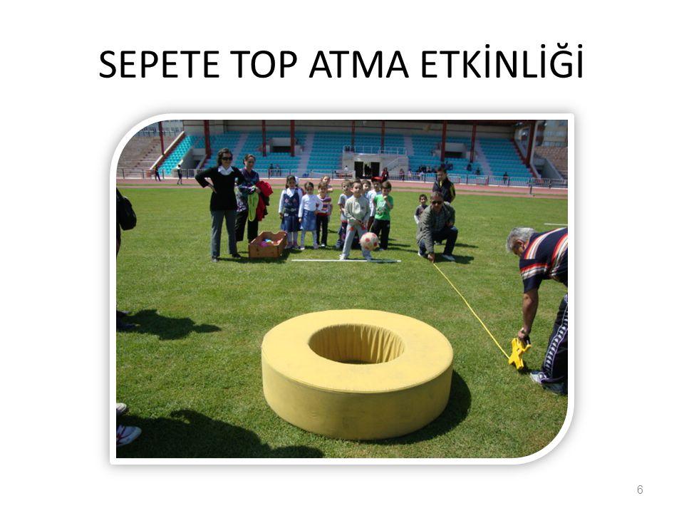 SEPETE TOP ATMA ETKİNLİĞİ
