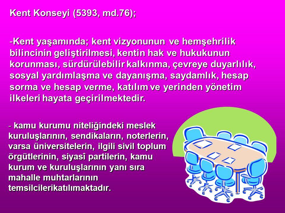 Kent Konseyi (5393, md.76);
