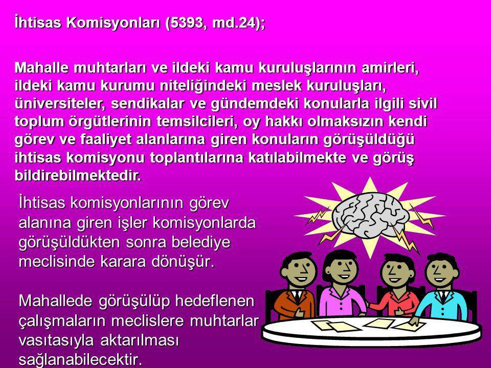 İhtisas Komisyonları (5393, md.24);