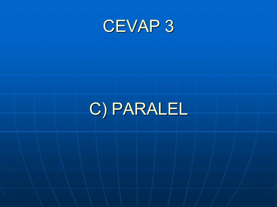 CEVAP 3 C) PARALEL
