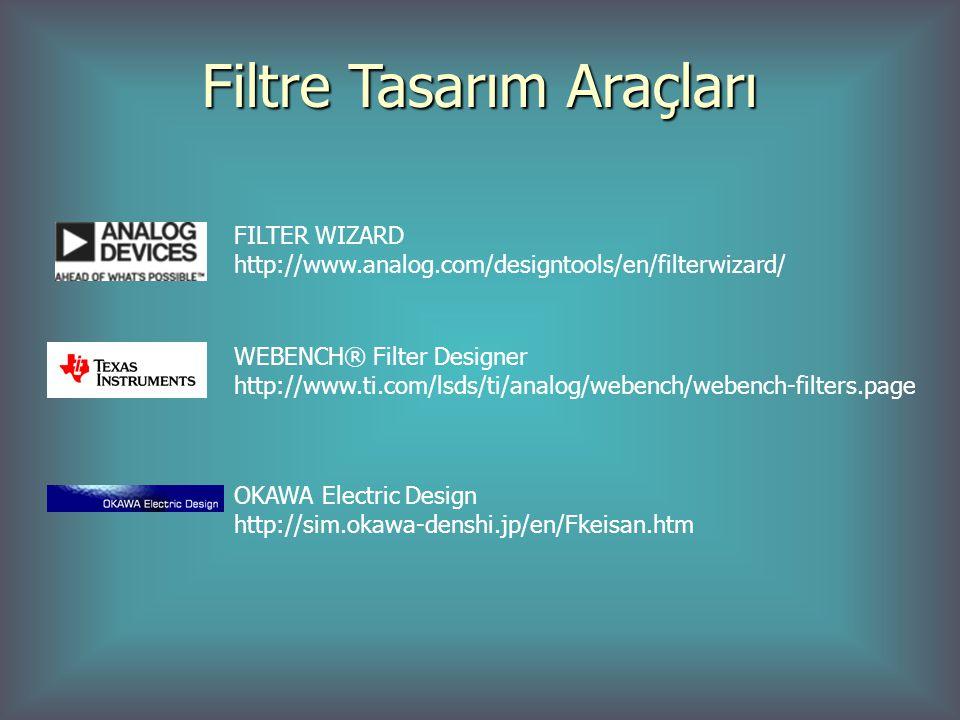 Filtre Tasarım Araçları