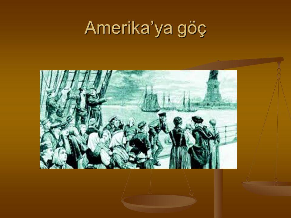 Amerika'ya göç