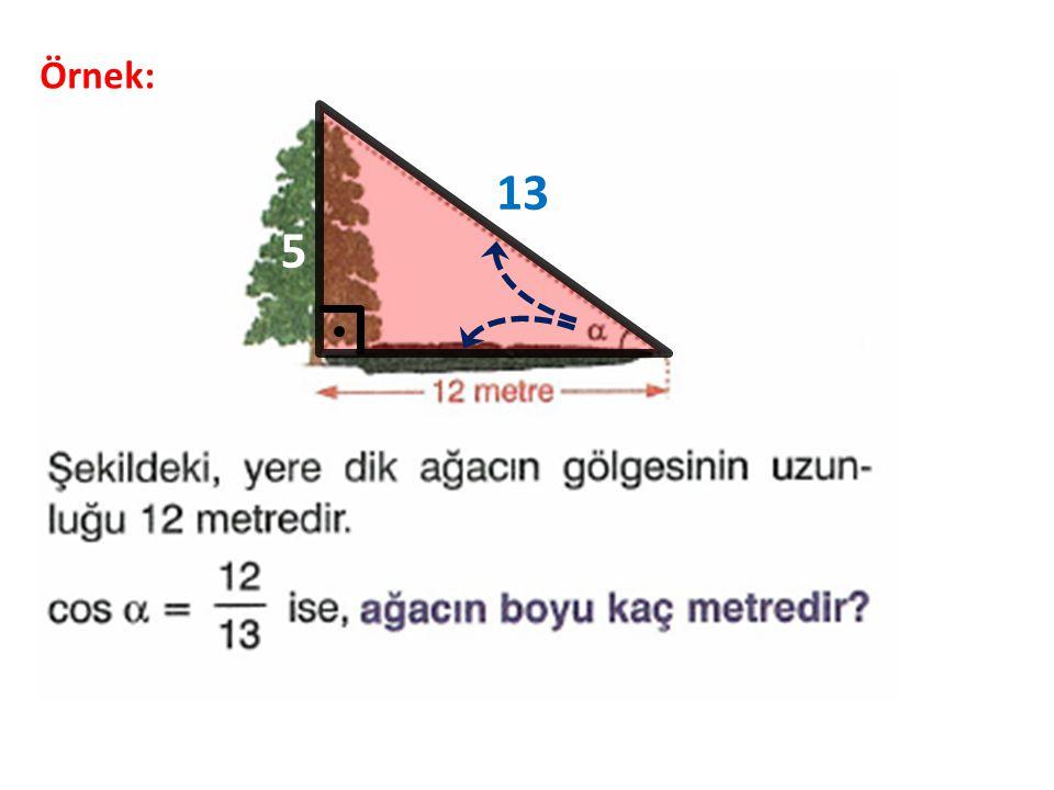 Örnek: 13 5