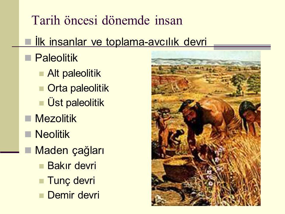 Tarih öncesi dönemde insan