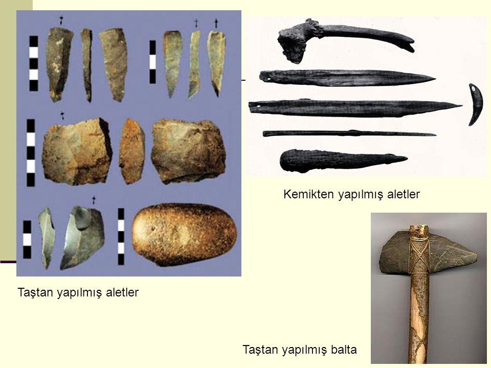 Kemikten yapılmış aletler