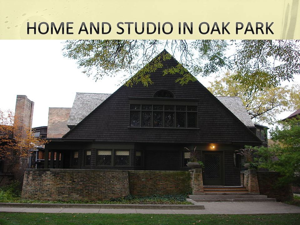 HOME AND STUDIO IN OAK PARK