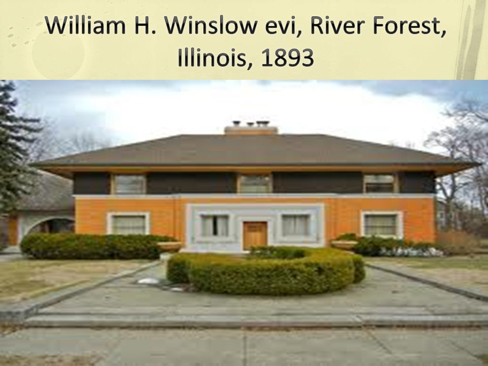 William H. Winslow evi, River Forest, Illinois, 1893