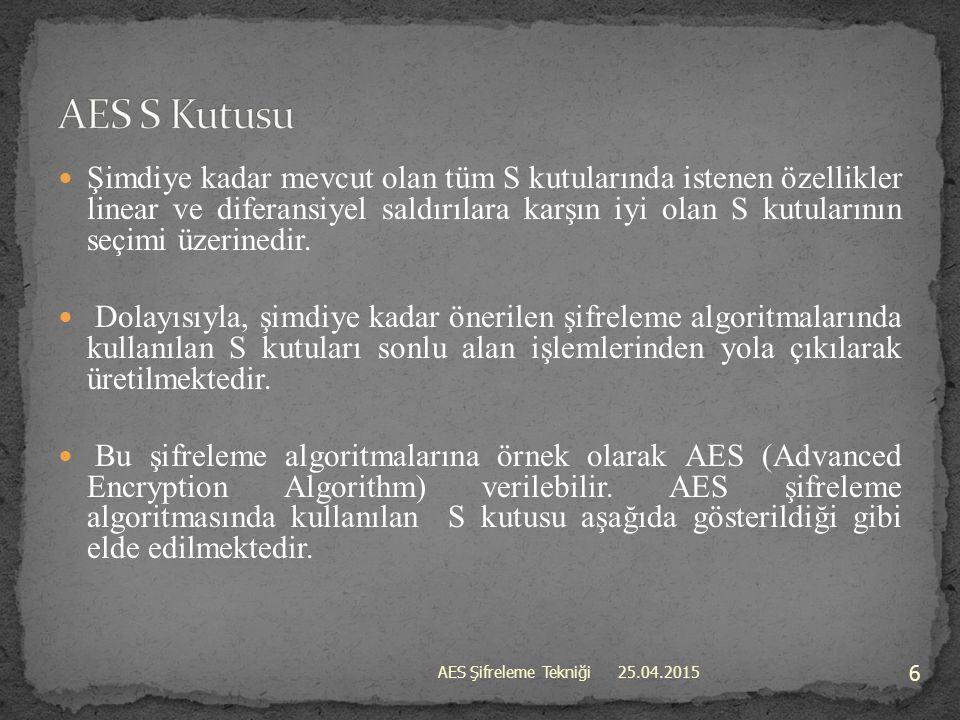 AES S Kutusu