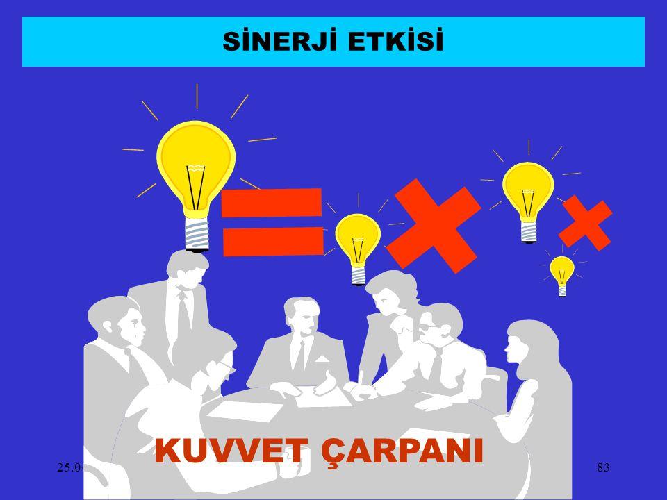 SİNERJİ ETKİSİ KUVVET ÇARPANI 14.04.2017
