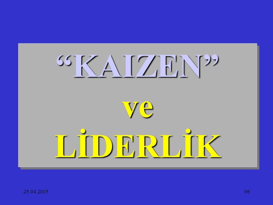 KAIZEN ve LİDERLİK 14.04.2017