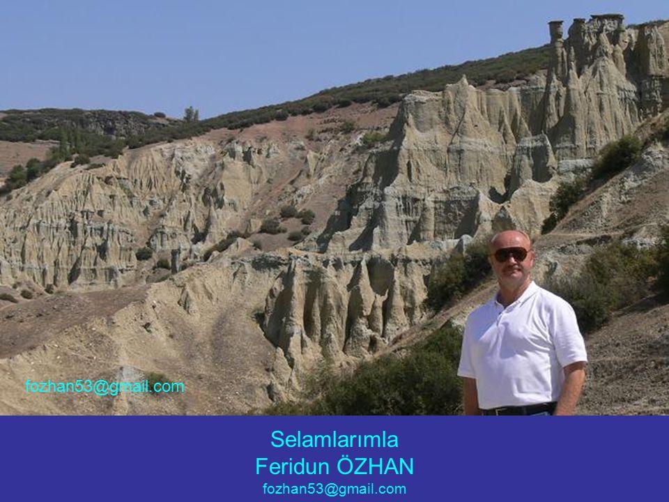 Selamlarımla Feridun ÖZHAN fozhan53@gmail.com