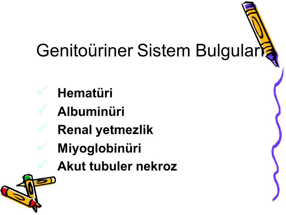 Genitoüriner Sistem Bulguları