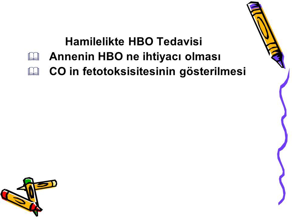 Hamilelikte HBO Tedavisi