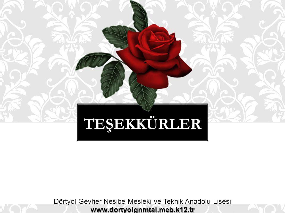 Dörtyol Gevher Nesibe Mesleki ve Teknik Anadolu Lisesi