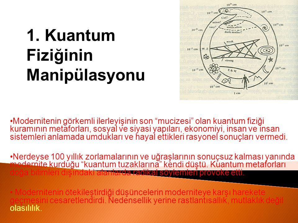 1. Kuantum Fiziğinin Manipülasyonu