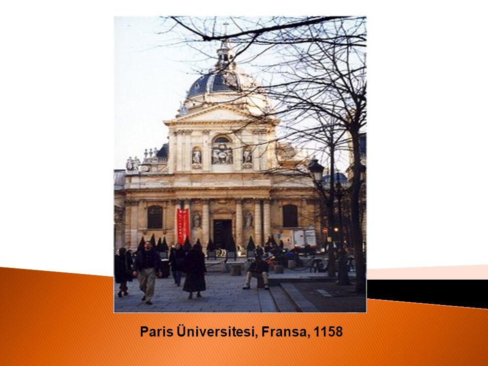 Paris Üniversitesi, Fransa, 1158