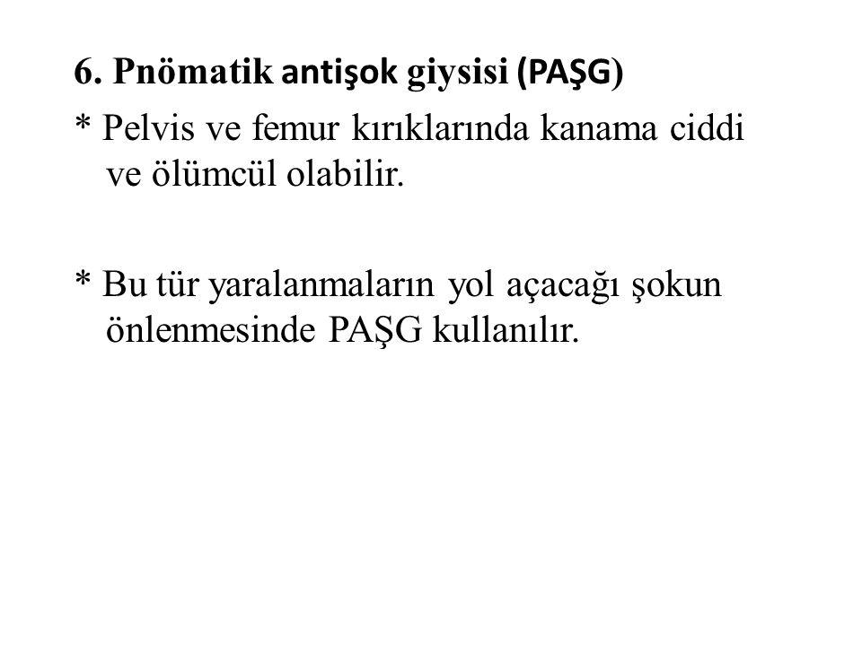 6. Pnömatik antişok giysisi (PAŞG)