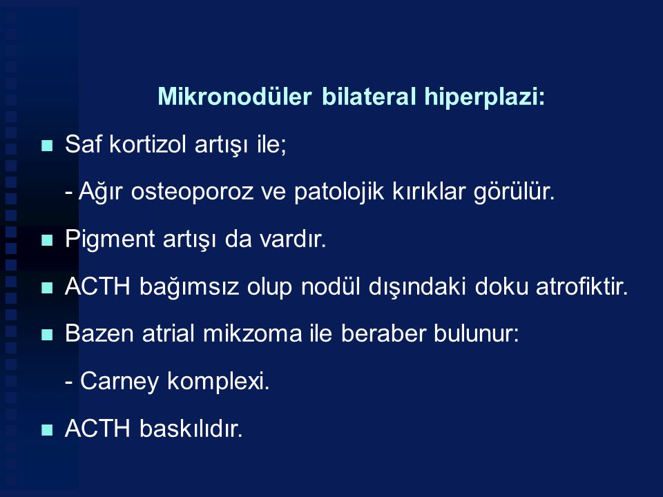 Mikronodüler bilateral hiperplazi: