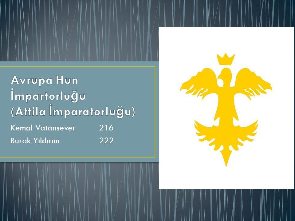 Avrupa Hun İmpartorluğu (Attila İmparatorluğu)
