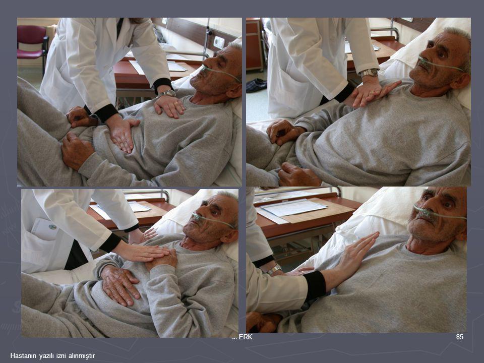 M.ERK Hastanın yazılı izni alınmıştır