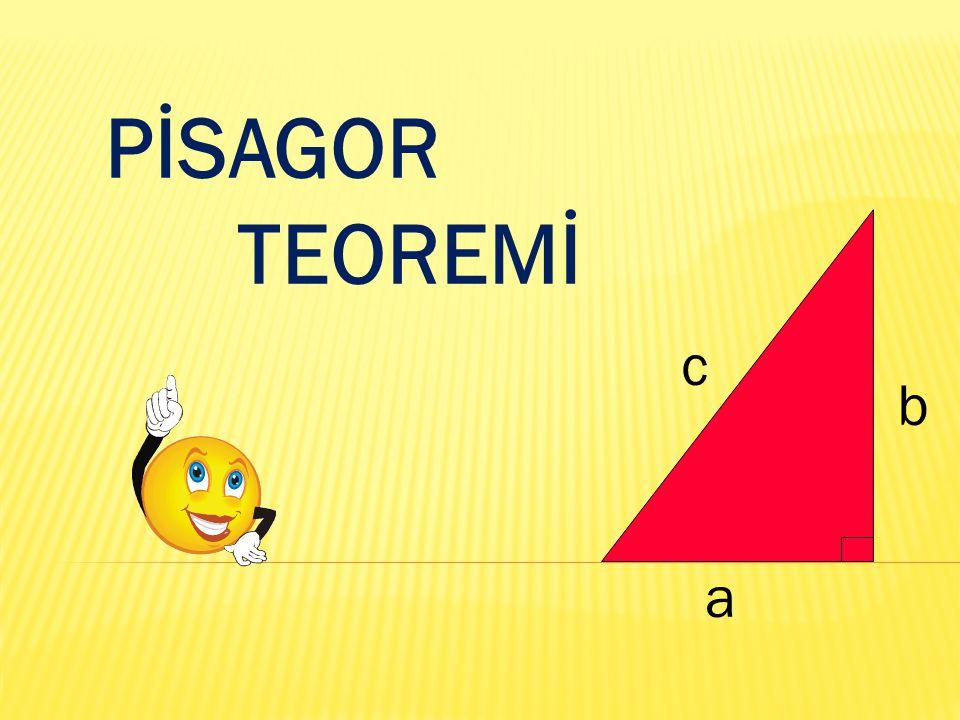 PİSAGOR TEOREMİ a b c