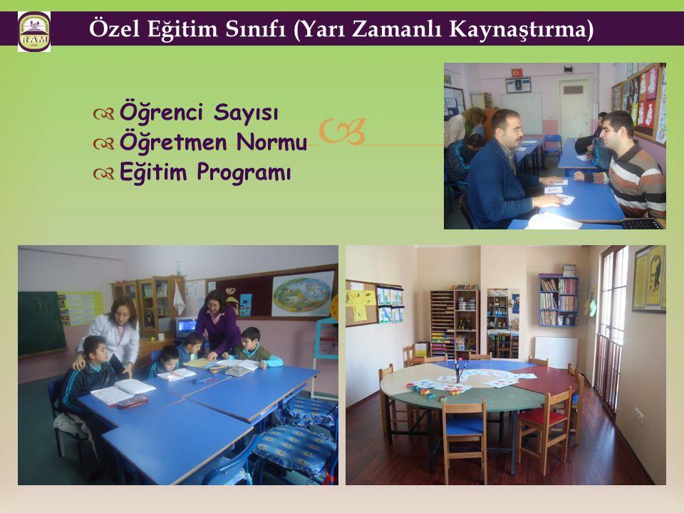 Özel Eğitim Sınıfı (Yarı Zamanlı Kaynaştırma)