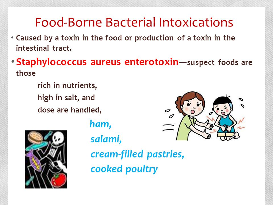 Food-Borne Bacterial Intoxications