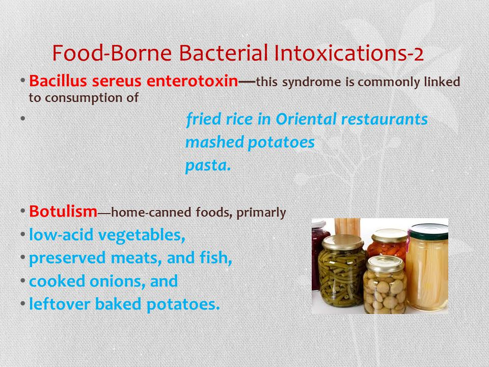 Food-Borne Bacterial Intoxications-2