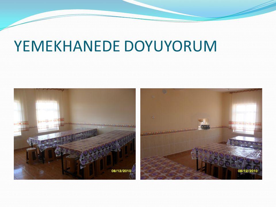 YEMEKHANEDE DOYUYORUM