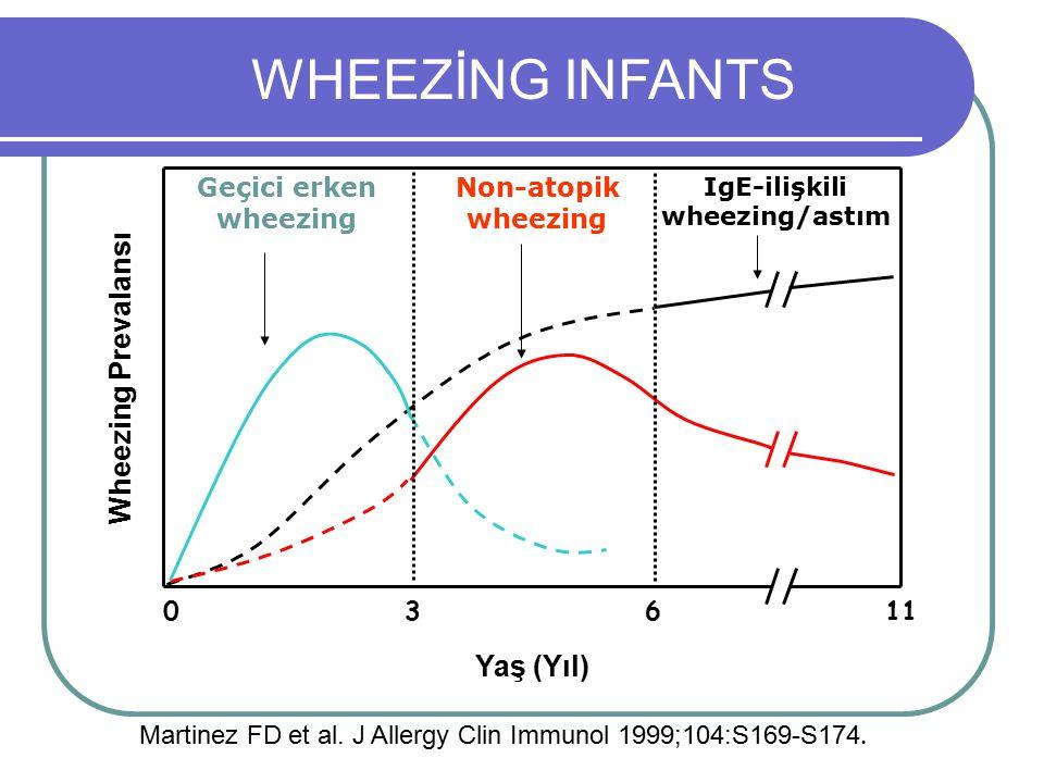 IgE-ilişkili wheezing/astım