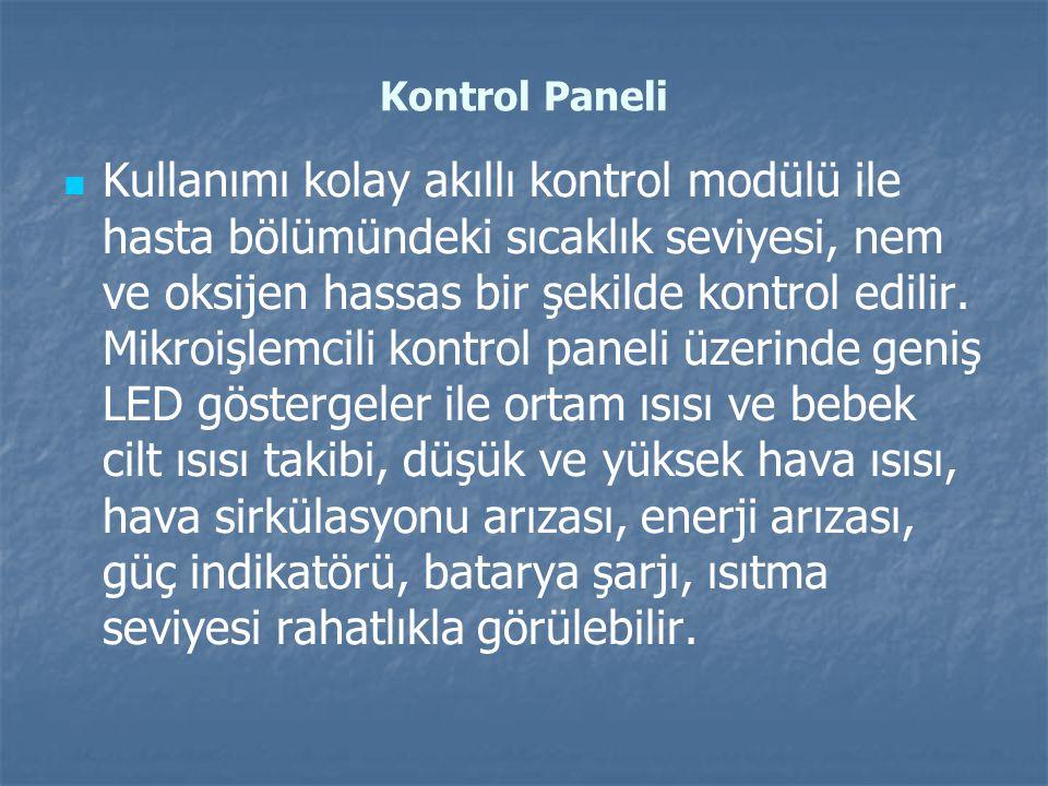 Kontrol Paneli