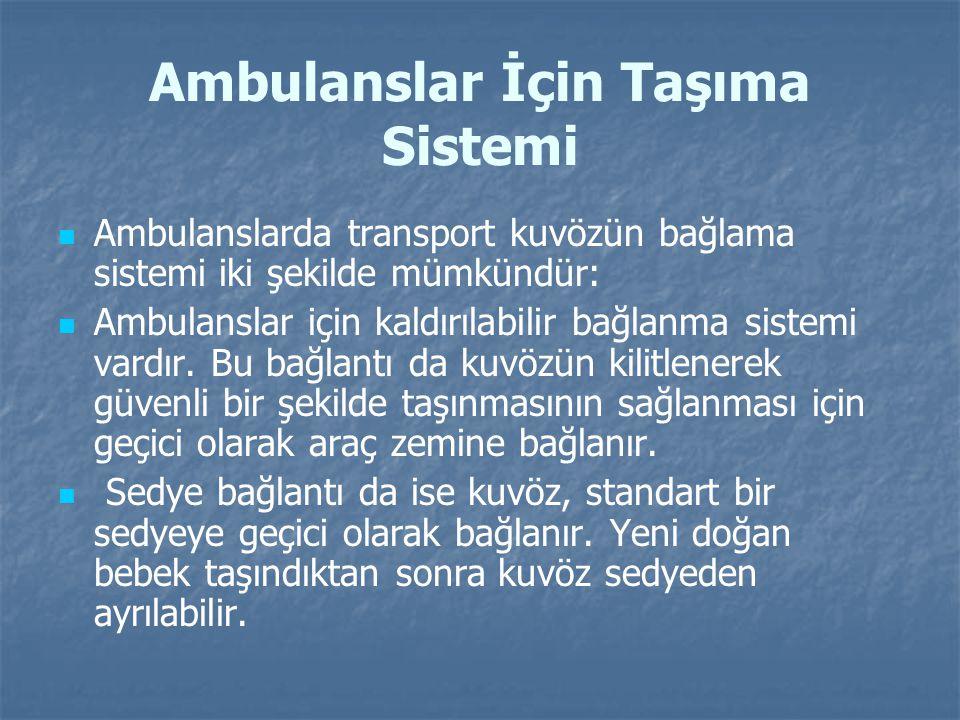 Ambulanslar İçin Taşıma Sistemi