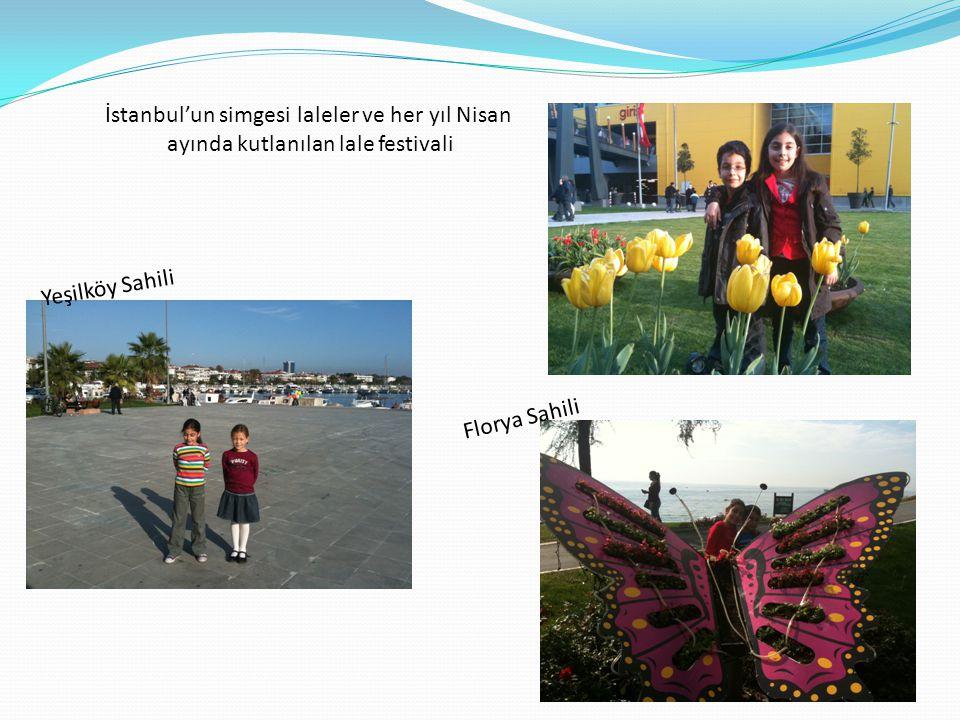 İstanbul'un simgesi laleler ve her yıl Nisan
